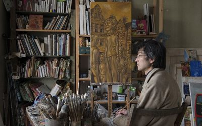 Special event:  Guided visit to the studio of painter Jiro Osuga